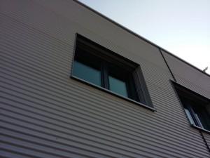 Fasada z blachy falistej Komornikach