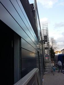 Kompleksowe wykonanie fasady z paneli