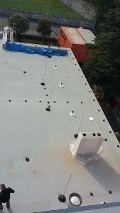 Membrana PVC na dachu