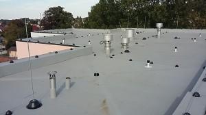 Pokrycie dachowe z membrany PVC