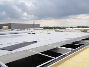 Wykonanie pokrycia dachowego PVC