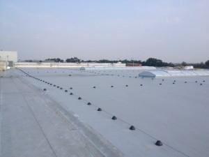 Pokrycie dachowe - membrana PVC