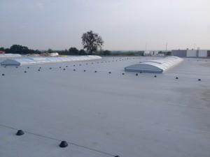 Realizacja - pokrycie dachowe PVC