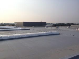 Wykonanie pokrycia dachowego z membrany PVC